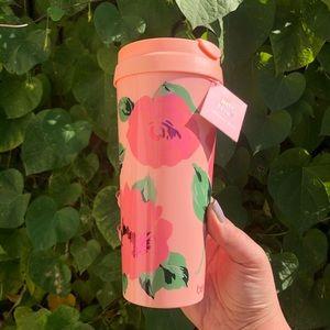 Rose Print Travel Mug